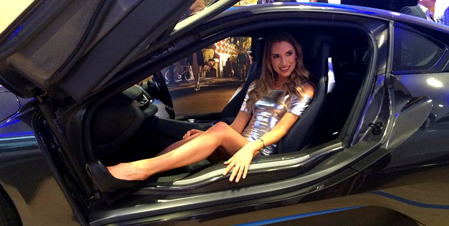 Models dazzle at BMWi Launch