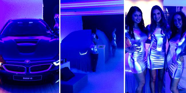 Models dazzle at BMWi Launch