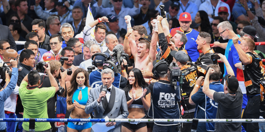 Ve Models ringside as Jeff Horn stuns Manny Pacquiao to become new WBO World Welterweight Champion