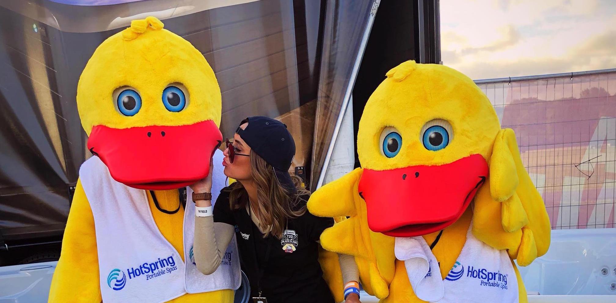 Duck Mascots making a splash!